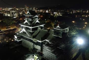 「熊本の人なら一度は…」説 熊本城行ったことある89% 地震から復旧着々 天守閣、来春一般公開へ