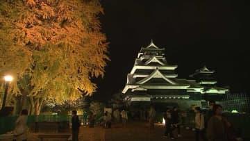 熊本城 震災後初の夜間公開始まる(熊本)