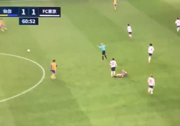 FC東京の東慶悟、倒した相手の頭部を蹴る蛮行…なぜかベガルタ仙台もJリーグも沈黙