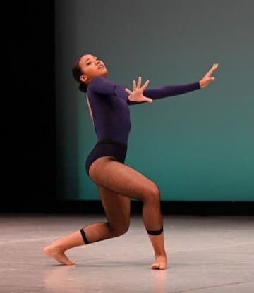 Miutaさん1位 創作ジュニア 新報国際バレエ