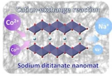 ナノサイズ海苔様シート状の層状チタン酸ナトリウム吸着材(画像: 大阪大学の発表資料より)