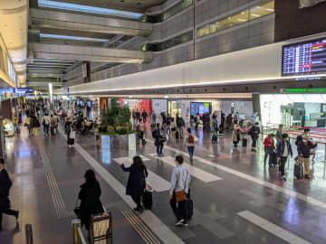 羽田空港、多くの店舗が臨時休業 1月12日から