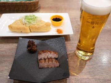 【仙台駅】利久の運営するロッケンキッチンでサク飲み|牛タン2枚から注文できる!