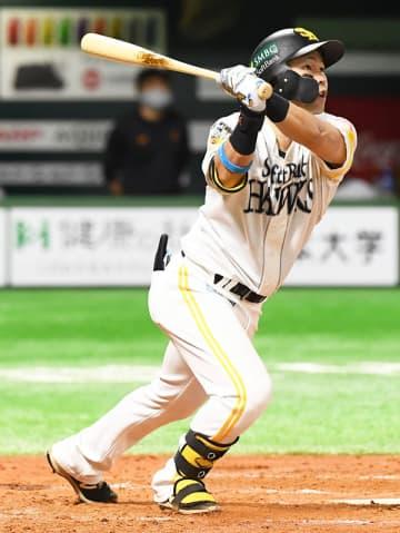 【日本S・第3戦】驚異のポストシーズン男・ソフトバンク中村晃が先制の〝通算12号弾〟