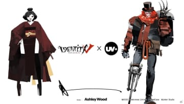 「Identity V 第五人格」とUNDERVERSEがコラボ!道化師と芸者の1/6アクションフィギュアが予約開始