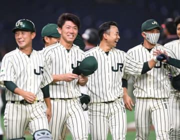 阪神ドラ2 JR東日本・伊藤が劇的勝利に導く好投 ドラ6中野と対戦