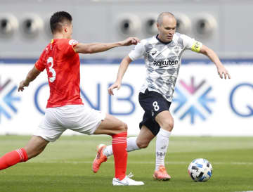 Soccer: Kobe advance to ACL knockout phase with win over Guangzhou