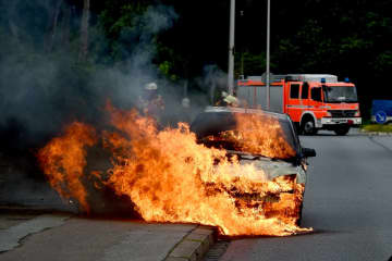 Help, my car's on fire! The situation every driver should prepare for