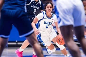 Gilas women prospect De Jesus shines in US NCAA debut with Duke University