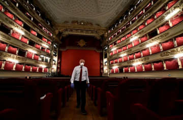 ミラノ・スカラ座、今年のシーズン開幕は無観客公演に