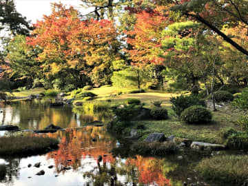【京都】名勝庭園の紅葉を眺めながらカフェを楽しめる!「無鄰菴」で至福のひととき