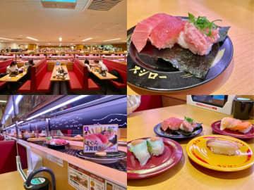新オープンの回転寿司店「スシロー 吉祥寺パルコ店」レポ!圧倒的な広さと安さ