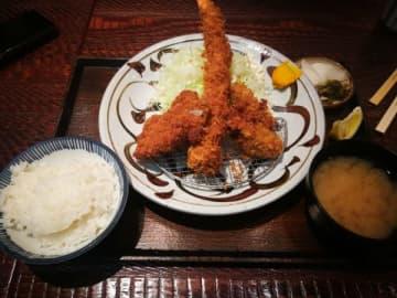 カキフライ定食は大満足のボリューム!富金豚@ららぽーと柏の葉