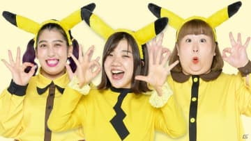 TVアニメ「ポケットモンスター」でお笑い芸人・3時のヒロインが声優に初挑戦!11月27日放送回に登場