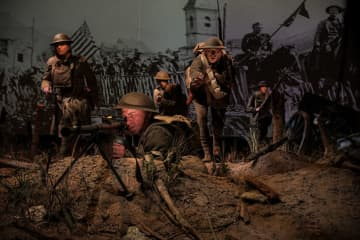 Guns, tanks and choppers:New museum tells history of the US Army