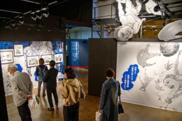 進撃の巨人展、28日開幕 福岡市 原画や映像で魅力紹介