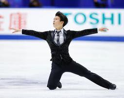 本田ルーカス剛史が初出場3位「結果にびっくり」 フィギュアNHK杯
