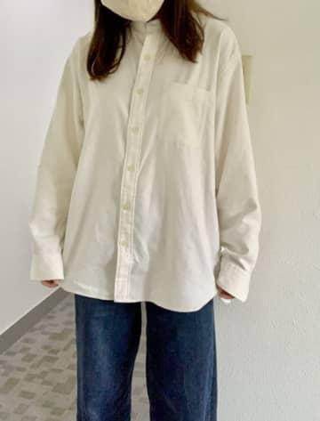 楽すぎて毎日着たい〜!ユニクロの「フランネルシャツ」一枚でサラッとおしゃれ見えします