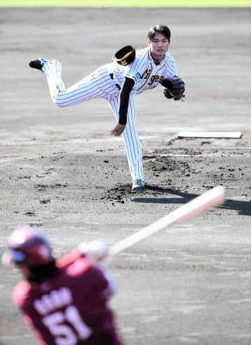 阪神・西純矢 今年ラスト先発は5回8安打5失点 153キロも五回に乱調