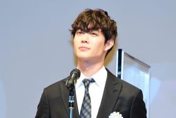 宮沢氷魚、初の映画賞に「一生忘れない」『his』共演・藤原季節にも感謝