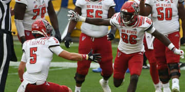 Wolfpack Scores Final 16 Points in 36-29 Win at Syracuse