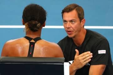 テニス=バジン氏がプリスコバの新コーチに、大坂の元コーチ