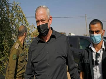 Israel's Gantz puts submarines probe on hold
