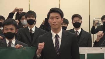 J内定・野々村鷹人選手を激励/滋賀