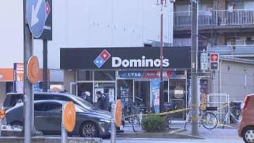白昼に「ピザ店強盗」 男が刃物を持って逃走 名古屋・中区