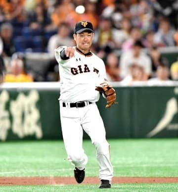 阪神・山本 内野陣に新風吹かす「来年も伝統ある球団」巨人から金銭トレード