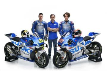 MotoGP:モンスターエナジーが2021年からチーム・スズキ・エクスターとスポンサー契約