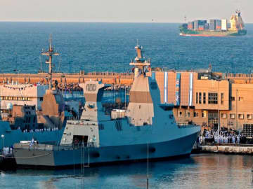 Israel gets new missile boat as Iran tensions surge
