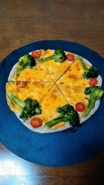 【アメリカ産チーズ2020】コルビージャックチーズのピザ