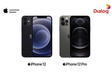 The Latest iPhone 12 Series Available at Dialog | Daily FT