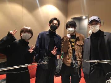 『チェリまほ』劇団EXILE・町田啓太、赤楚衛二・浅香航大・ゆうたろうとオフショット