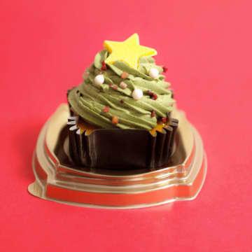 """食べるクリスマスツリー!""""映え""""すぎな『抹茶クリスマスケーキ』を食べてみた"""