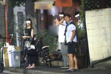 石田純一 反省なきマスクなし飲み会現場【2020ベストスクープ】 画像