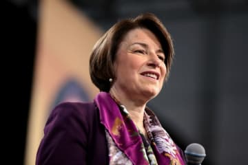 Unhinged: Amy Klobuchar says Trump refusal to sign bill that gives crumbs to Americans is akin to 'burning down' the country