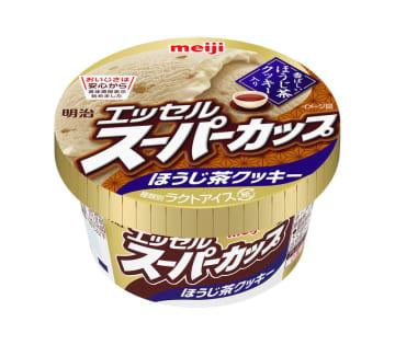 エッセル初のフレーバーが登場!「明治 エッセルスーパーカップ ほうじ茶クッキー」1月11日新発売