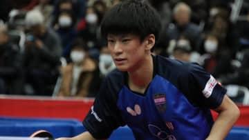 卓球全日本優勝候補の戸上隼輔ら3選手が棄権 明治大学所属選手に発熱