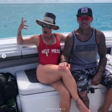 Pink marks 15th anniversary with Carey Hart: 'Proud of us'