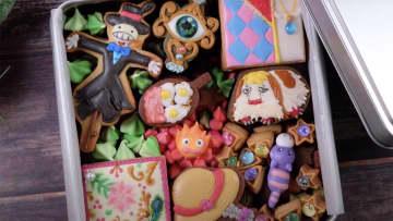 鬼滅にポケモン、ジブリも! ずっと見ていたいキャラクターアイシングクッキー動画