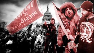 米議会襲撃 65日間の危険信号