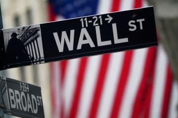 NY株反落、8ドル安