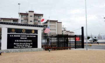 新型コロナウイルスの感染者が急増している米軍岩国基地