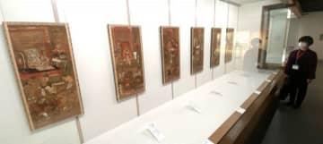 雪舟の奥深い世界伝える30点 総社・吉備路文化館で展覧会