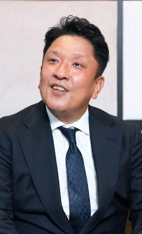 北広島の事業について「全力を挙げて取り組みたい」と強調した伊藤社長
