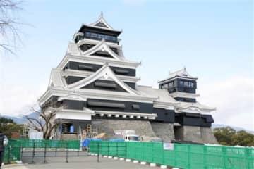 15日から特別公開の中止が決まった熊本城