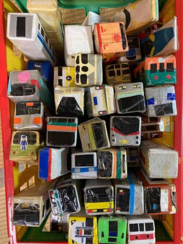 10年前、息子のために母が作ったラップの空き箱電車「捨てられない」にネット「愛あふれる力作」「捨てないで」