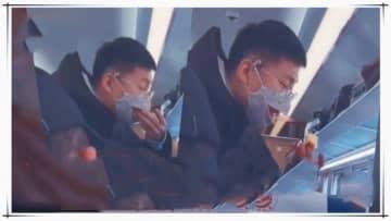 コロナ予防効果ゼロ?中国の列車内に「くちばし式マスク」姿の乗客現る―甘粛省